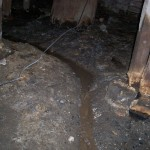improve drainage to subfloor