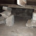 inadequate pier footings 5
