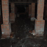 poor drainage to subfloor