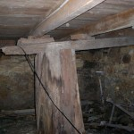 replace timber stump with pier