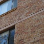 spalling concrete to slab edge