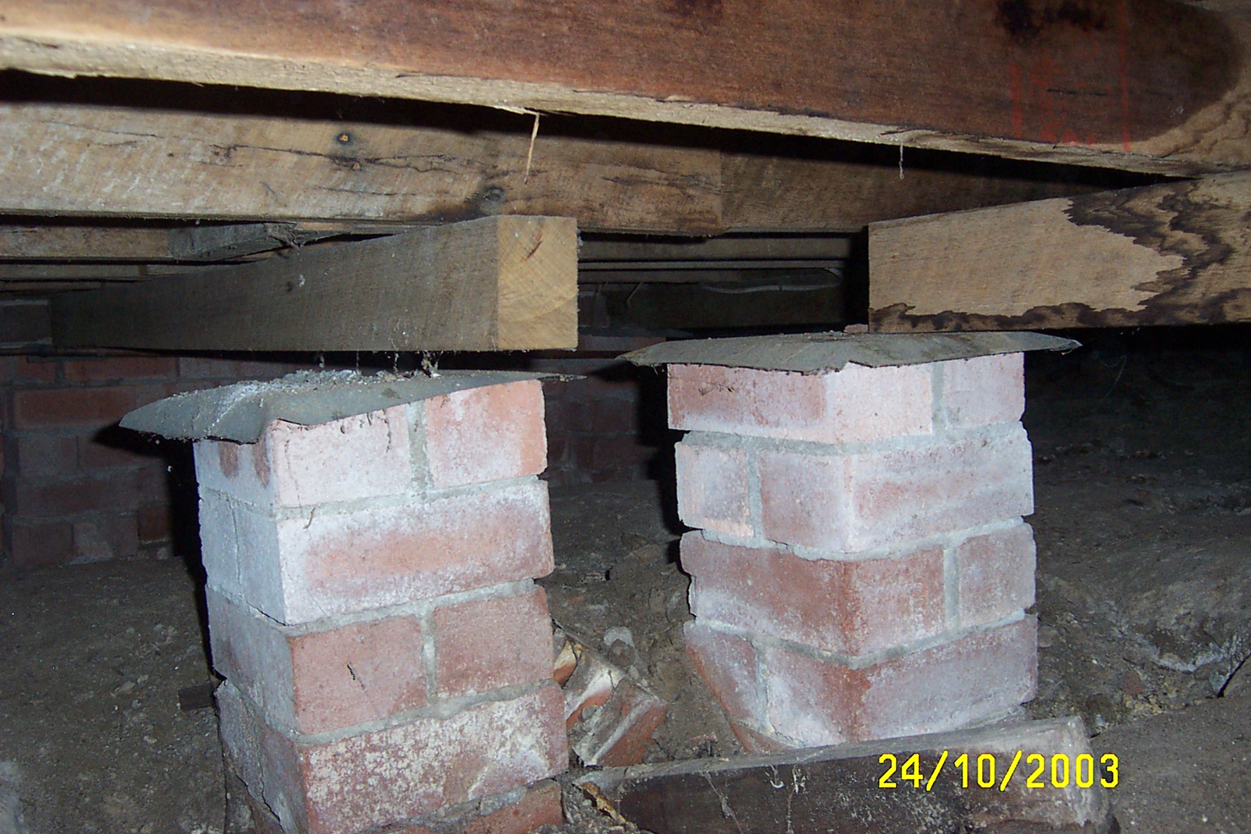Footing And Subfloor Defects